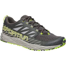 La Sportiva Lycan Running Shoes Men Carbon/Apple Green